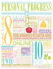 YW Infographic Personal Progress
