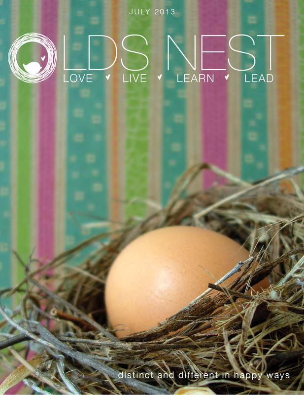 LDS NEST Newsletter & Notes Cover July 2013