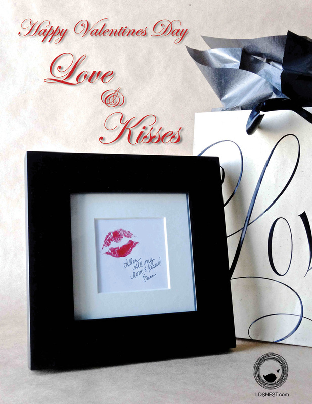 Valentine's Day Download - Love & Kisses • Shannon Christensen for LDSNEST.com