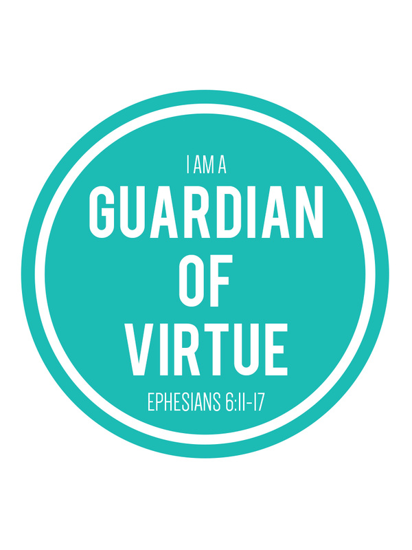 Free journal cards and handouts from LDS Nest for Come, Follow Me; How can I guard my virtue? <3