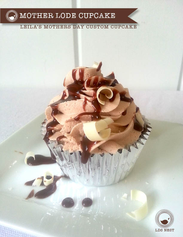 Leila's Motherlode Cupcake for Mother's Day • LDSNEST.com