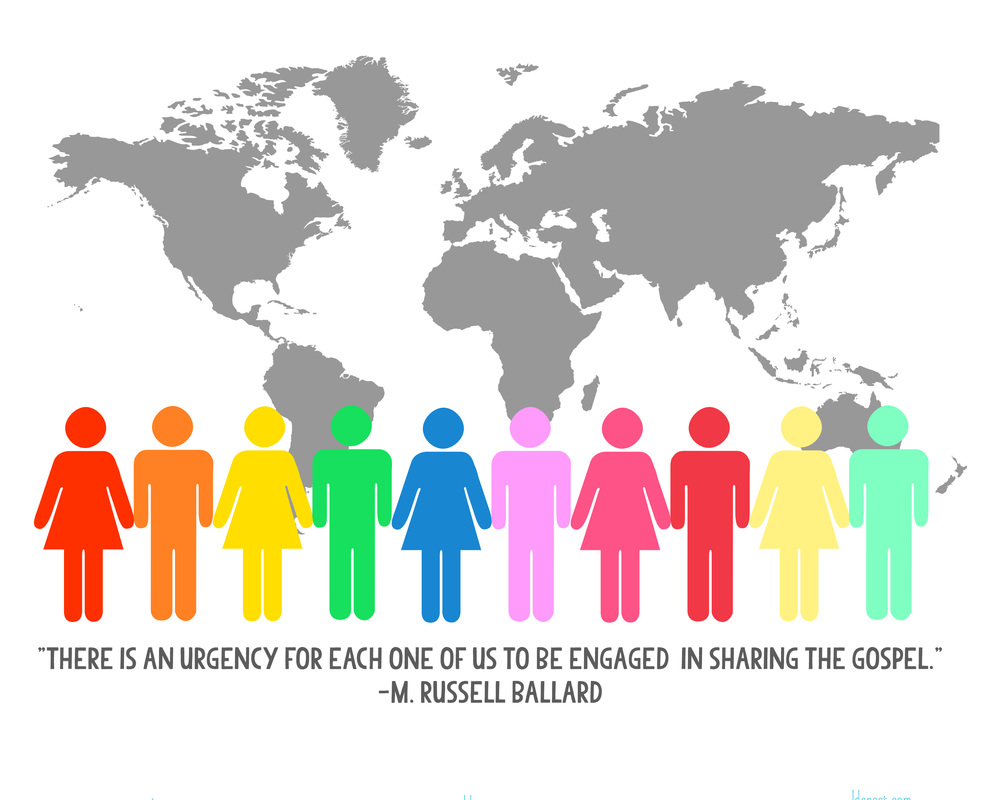 There is an urgency for each one of us to be engaged in sharing the gospel. -M Russell Ballard #ldsconf2013 #ldsconf #ldsnest #lds