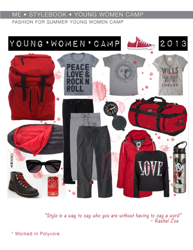 YW Camp Packing - What to wear to camp? LDSNEST.com